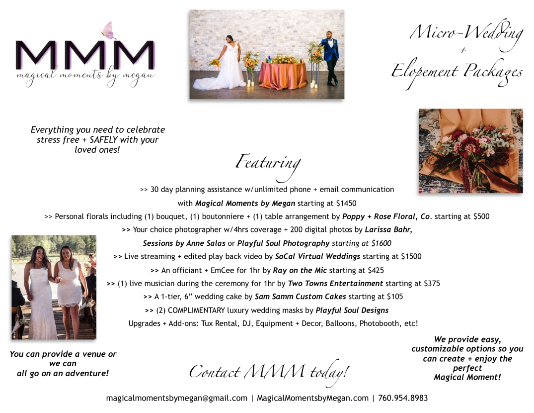 MMM Micro Weddings + Elopements_Pricing
